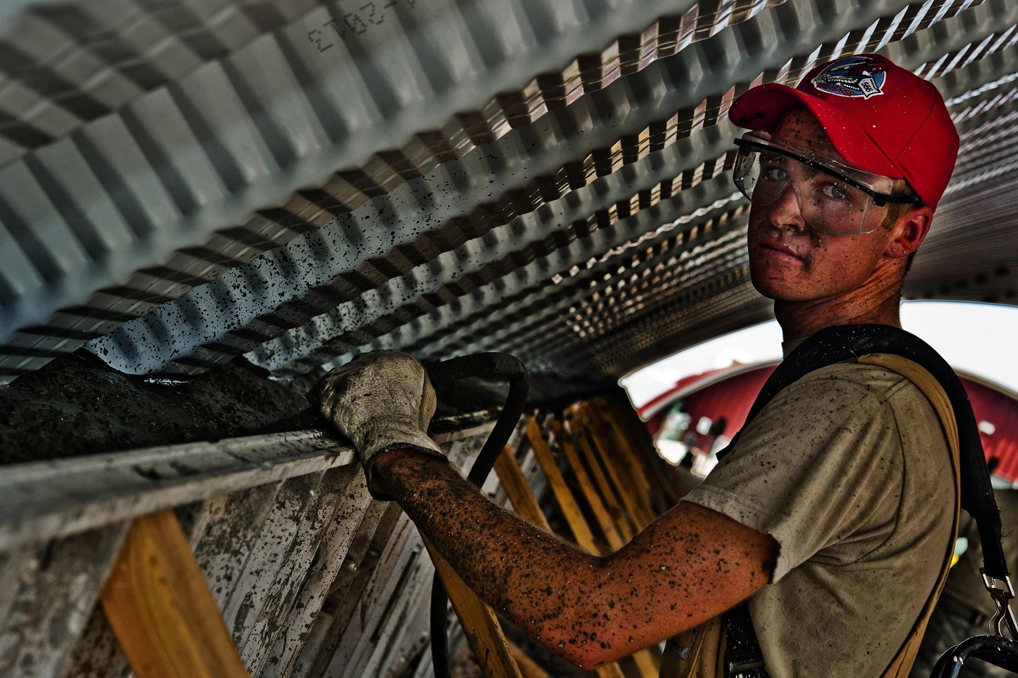 Field service worker