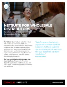 NetSuite for Wholesale Distributors